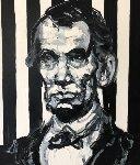 Lincoln 2014 33x29 Original Painting - Hunt Slonem