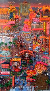 Viva Las Vegas 1998 27x15 Original Painting by Susannah MacDonald