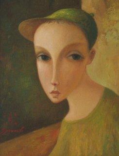 From Child's Album 2006 17x13 Original Painting by Sergey Smirnov