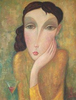 Summer 2005 27x23 Original Painting - Sergey Smirnov