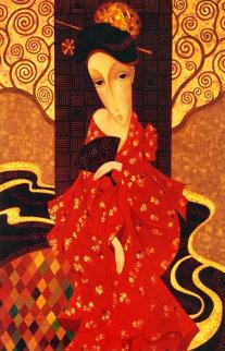 Geisha in Red 2007 Limited Edition Print by Sergey Smirnov