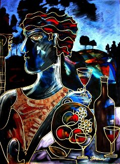 Glass of Wine 2012 Limited Edition Print - Igor Smirnov