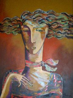 Memories 2000 46x36 Huge  Original Painting - Igor Smirnov