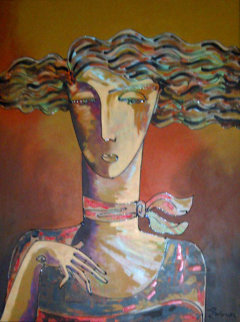 Memories 2000 46x36 Super Huge  Original Painting - Igor Smirnov
