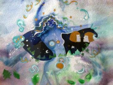 Balance Watercolor 1987 39x45 Watercolor - Andrea Smith