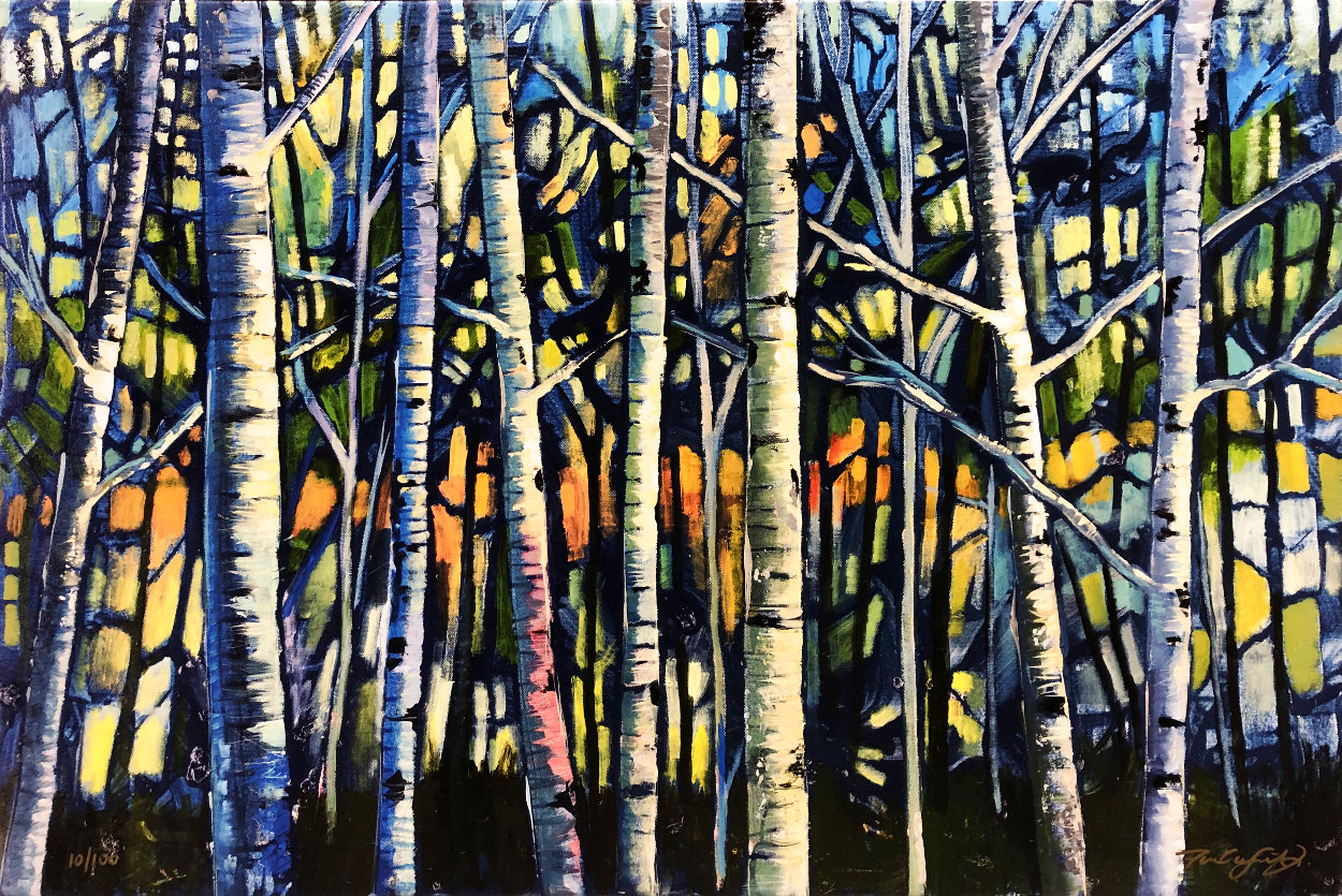 Bare Forest Limited Edition Print by Ford Smith