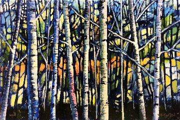 Bare Forest Limited Edition Print - Ford Smith