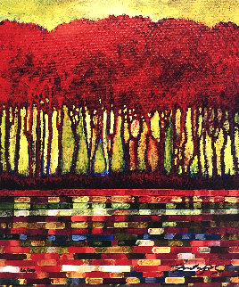 Crimson Break Limited Edition Print - Ford Smith