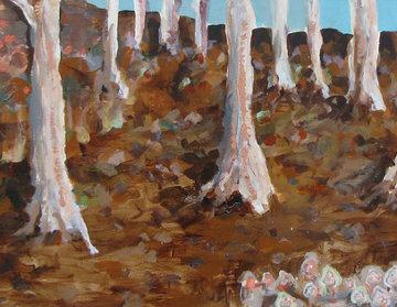 Morrels 23x53 Original Painting - Greg Smith