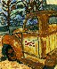Rusty Coke Truck 2017 30x24 Original Painting by L.J. Smith - 0