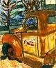 Rusty Coke Truck 2017 30x24 Original Painting by L.J. Smith - 4