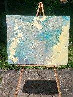 Blue Vue 2016 30x24 Original Painting by L.J. Smith - 2