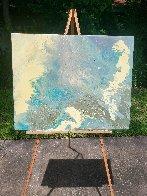 Blue Vue 2016 30x24 Original Painting by L.J. Smith - 3