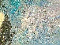 Blue Vue 2016 30x24 Original Painting by L.J. Smith - 5