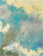 Blue Vue 2016 30x24 Original Painting by L.J. Smith - 0