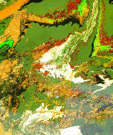 Enticement 2015 30x24 Original Painting by L.J. Smith - 0