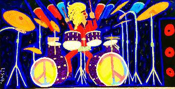 Drum Craft Original 2018 48x96 Huge Original Painting - L.J. Smith