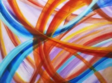 Ubiquitous 2013 18x24 Original Painting by L.J. Smith