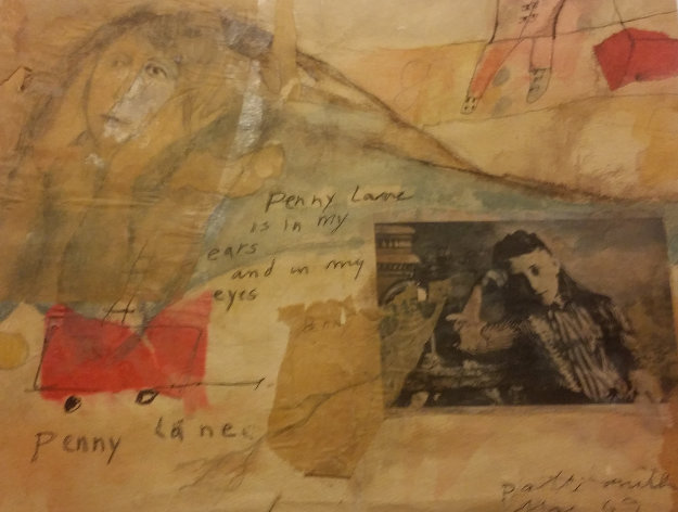 Penny Lane Drawing HS 1969 8x11 Drawing by Patti Smith