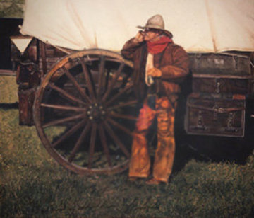 Untitled (Cowboy) Limited Edition Print - Gordon Snidow