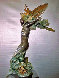 Devonian Seafan Bronze Sculpture 24 in Sculpture by M. L. Snowden - 1