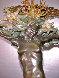 Devonian Seafan Bronze Sculpture 24 in Sculpture by M. L. Snowden - 2