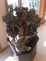 Sea Creates Bronze Sculpture 2000 56 in Sculpture by M. L. Snowden - 4