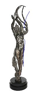 Angstrom Bronze Sculpture  2007  72 in Lifesize Sculpture - M. L. Snowden