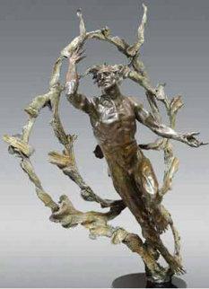 Starfire Polaris Bronze Sculpture 44 in Sculpture by M. L. Snowden