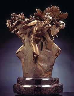 Tectonics Study Bronze Sculpture 28 in Sculpture by M. L. Snowden