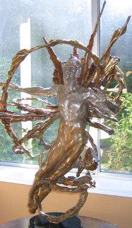 Solaris Bronze Sculpture 2006 39 in Sculpture by M. L. Snowden