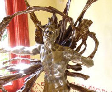 Solaris Bronze Sculpture 2006 48 in Sculpture by M. L. Snowden