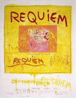 Requiem (Let Them Rest) 1998 Limited Edition Print by Joan Snyder