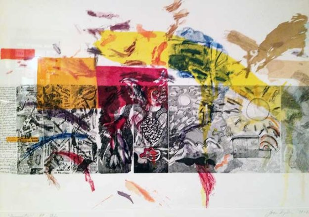 Resurrection    IX/X Original Painting by Joan Snyder