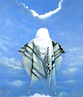 Prayer For Messiah 2009 Original Painting - Ghenadie Sontu