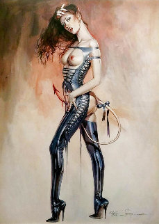 Print -82, Dangerous Devil Lady Limited Edition Print - Hajime Sorayama