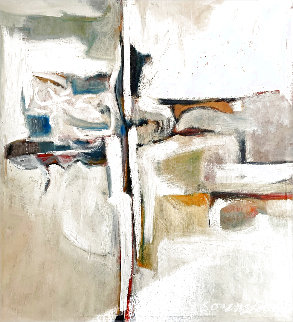 Untitled Abstract Painting 1960 49x45 Original Painting - Don Sorenson