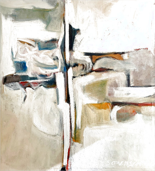 Untitled Abstract Painting 1960 49x45 Original Painting by Don Sorenson
