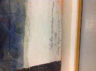 Then Again Now 1986 72x49 Super Huge  Works on Paper (not prints) by Steven Sorman - 2