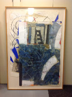 Then Again Now 1986 72x49 Super Huge  Works on Paper (not prints) by Steven Sorman - 1