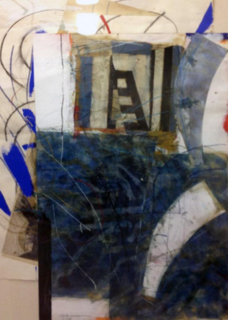 Then Again Now 1986 72x49 Super Huge  Works on Paper (not prints) by Steven Sorman