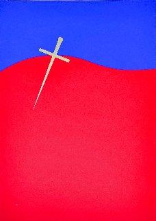 Homage to Federico Garcia Lorca: Untitled 1999 Limited Edition Print - Jesus Rafael Soto