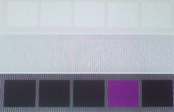 Beabourg Serie Bicentenaria - Violet et Tez Limited Edition Print - Jesus Rafael Soto