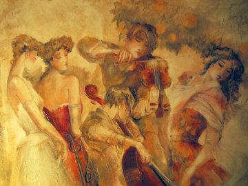 Muses Embellished  Limited Edition Print - Lena Sotskova