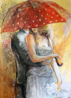 Under Umbrella  Limited Edition Print by Lena Sotskova