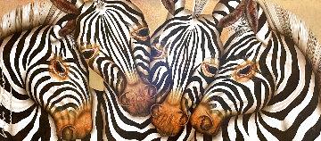 Armonia Captivante 2004  50x70 Huge Original Painting - Luis Sottil