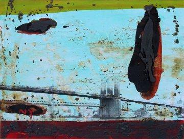 New York #0010 2015 Original Painting - Tony Soulie