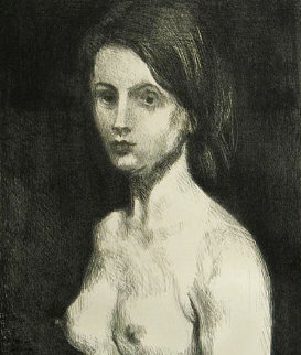 Fornarina Limited Edition Print - Raphael Soyer
