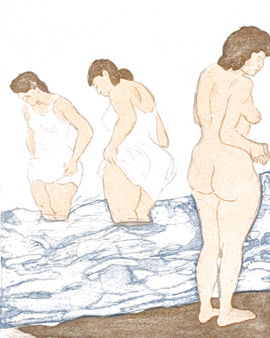 Day Bathing Limited Edition Print by Raphael Soyer