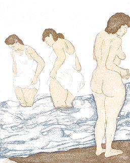 Day Bathing Limited Edition Print - Raphael Soyer